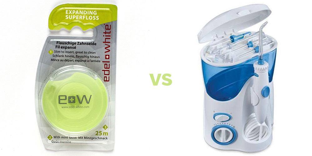 Ața dentară sau irigator oral? Ce să aleg? Care e mai bun?